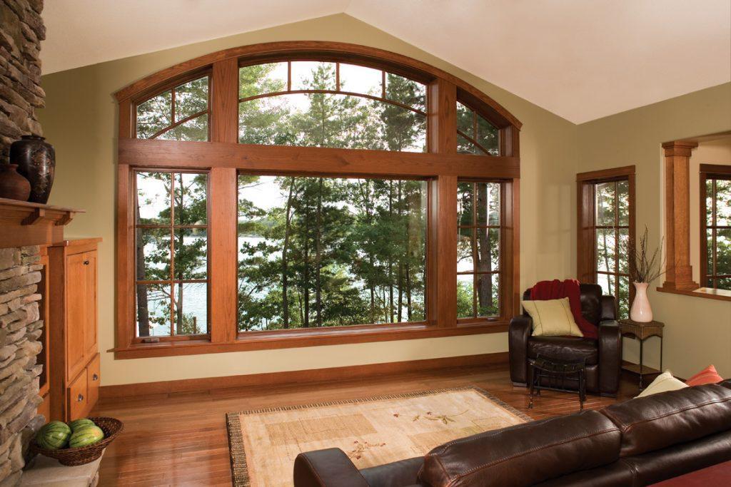 окна в дом варианты фото дорожного